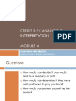 Mod 4_Credit Risk Analysis and Interpretation