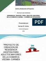 RESIDENCIA ASISTIDA PARA ADULTOS MAYORES