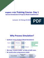Aspen Plus Training Course