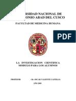Metodologia de La Investigacion-dr. Oscar Valiente