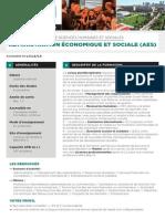 Administration Eco Social e