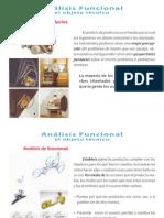 Analisis funcional, el objeto tecnico