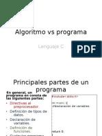 Algoritmo en Programa