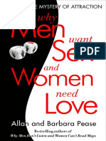 Why Men Want Sex and Women Need Love by Barbara and Allen Pease - Excerpt