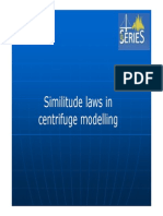 2.Similitude Laws in Centrifuge Modeling