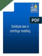 2.Similitude Laws in Centrifuge Modeling