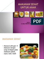 Ppt Makanan Sehat Co-ners