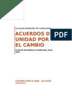 Chiriguana Cesar Pd 20122015 p 1