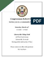 Libertyville Community Forum 3.14.15