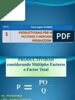 Productividad y Eficiencia Fisica