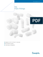 Swagelok High Purity PFA Fittings