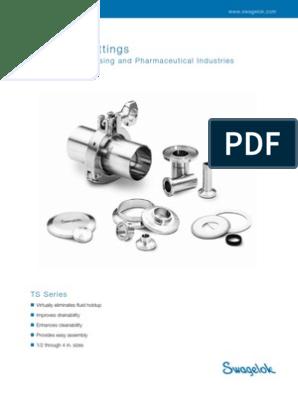 Swagelok Biopharm Fittings | Mechanical Engineering | Industries