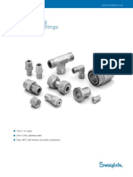 Swagelok VCO Face Seal Fittings