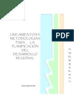 Lineamentos Metodos Planificacion Regional