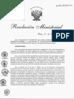 Nuevo Manual BPA. (R.M. 132-2015-MINSA)