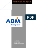 financial analysis abm inc