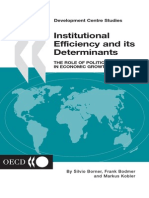Borner, Silvio and F.bodmer, M.kobler - Institutional Efficiency and Its Determinants, The Role of Political Factors in Economic Growth (OECD, 2004)