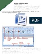 Botones de Word, Clasif de Cuentas, Documentos Comerciales, Importancia de Las Cartas y Puntuaciones