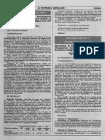 Reglamento Nacional de Transportes Terrestre de Materiales y Residuos Peligrosos