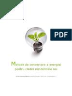 Metode de Conservare a Energiei Pentru Cladiri Rezidentiale