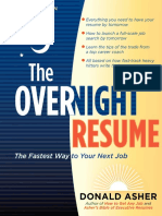 The Overnight Resume, 3rd Edition by Donald M. Asher - Excerpt