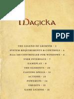 MAGICKA - English Manual
