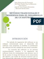 Métodos tradicionales y modernos para el desarrollo de