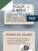 Tipos de Salarios Greys