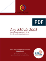 LEY 850 Completo Web