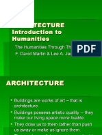 ARCHITECTURE Introduction to Humanities