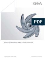 Manual for the Design of Pipe Systems and Pumps