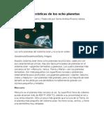 Características de los ocho planetas.docx