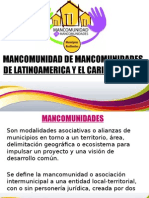 Mancomunidad de Mancomunidades, Ecuador