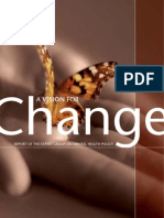 A Vision for Change Report of the Expert Group on Mental Health Policy 2006
