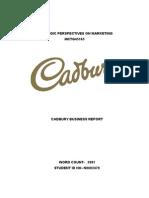 Cadbury case study