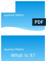 applied maths option