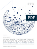 Technology, Globalisation and the Future of Work in Europe