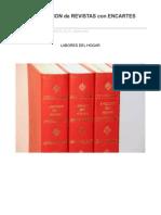 Encuadernacion de Revistas Con Encartes Extraibles