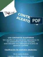 Contratos Aleatorios (Grupo No. 2)
