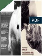 Introducción a La Experimentación Animal (Portada)