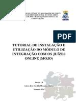 Tutorial de Instalação e Utilização Do MOJO