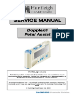 Huntleigh Dopplex Fetal Assist - Service Manual