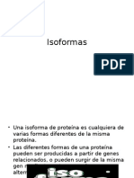 Isoformas