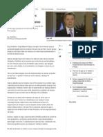 Reunión Santos y Ordoñez Sobre Proceso de Paz - Proceso de Paz - ELTIEMPO
