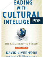 Leading with Cultural Intelligence, 2nd Edition Chapter 9 Deverloping a Culturally Intelligent Team