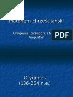 FS 7 Orygenes Grzegorz Augustyn