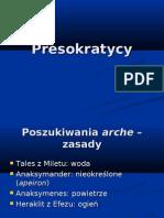 FS 9 Presokratycy Do Arystotelesa