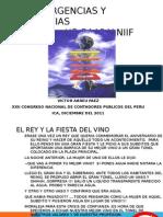USGAAP vs NIIF Convergencias y Divergencias