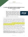 O JORNALISMO COMO GESTOR DE CONSENSOS
