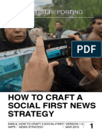 How to craft a social first news strategy